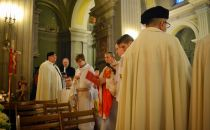Msza św. z procesją rezurekcyjną 2015