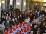 Msza św. z uroczystym poświęceniem nowych strojów liturgicznych dla ministrantów 25.03.2015
