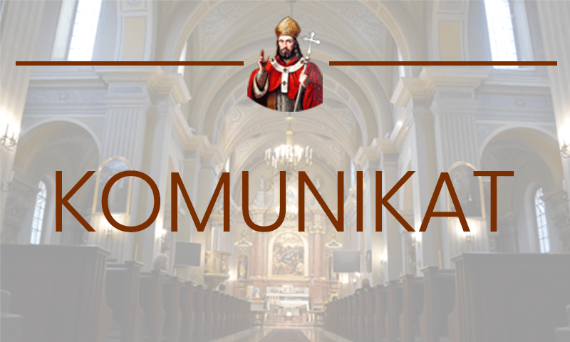 Zniesienie dyspensy przez Biskupa Kieleckiego