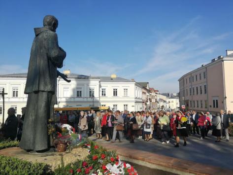 Marsz pokutny ulicami Kielc
