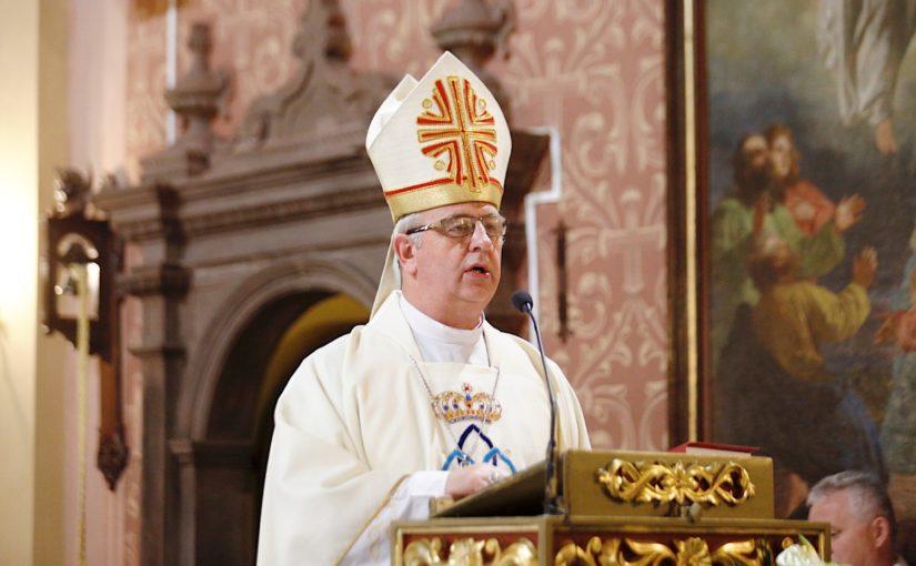 Słowo Biskupa Kieleckiego na Niedzielę Palmową 2021