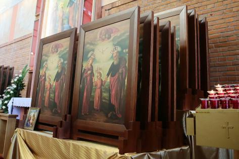 Peregrynacja obrazu Św. Józefa w naszej parafii